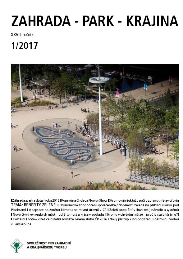 Ekonomické zhodnocení společenské přínosnosti zeleně na příkladu Parku pod Plachtami thumbnail