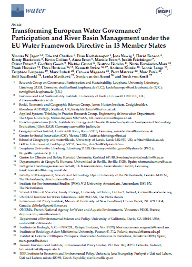 Transforming European Water Governance? Participation and River Basin Management under the EU Water Framework Directive in 13 Member States thumbnail