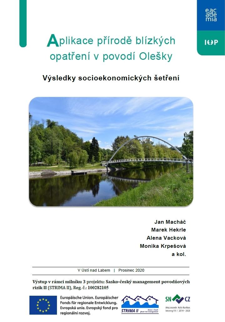 Aplikace přírodě blízkých opatření v povodí Olešky: Výsledky socioekonomických šetření thumbnail