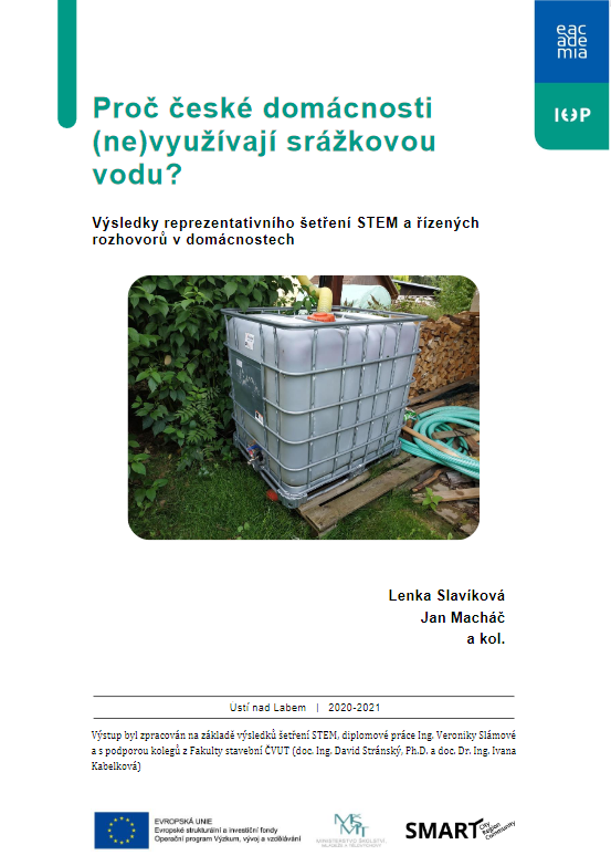 Proč české domácnosti (ne)využívají srážkovou vodu? thumbnail