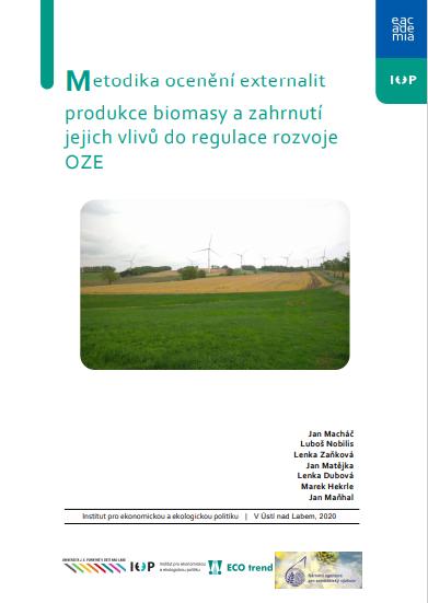 Metodika ocenění externalit produkce biomasy a zahrnutí jejich vlivů do regulace rozvoje OZE thumbnail