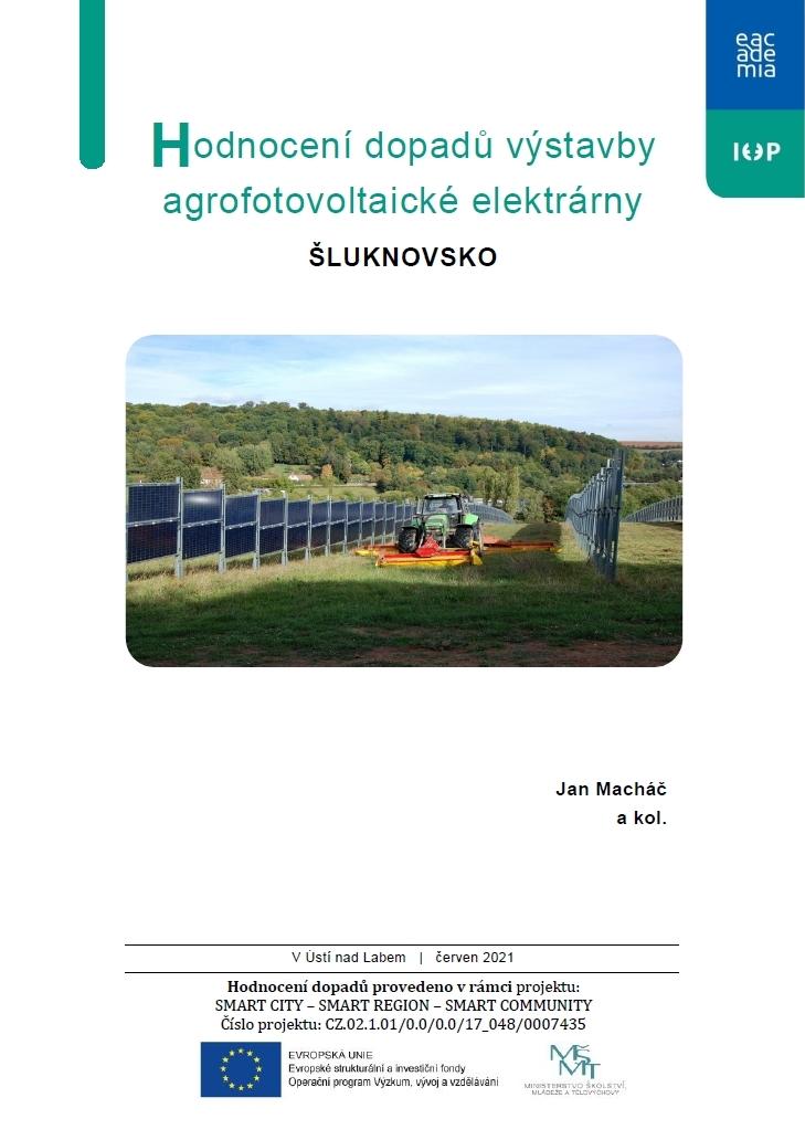 Hodnocení dopadů výstavby agrofotovoltaické elektrárny: ŠLUKNOVSKO thumbnail